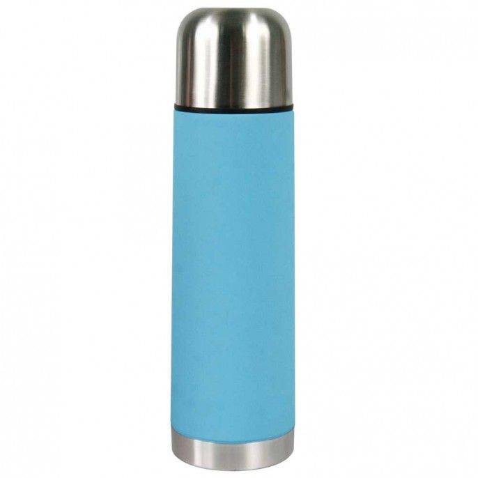 COLOURED 500ML RUBBER GRIP FLASK | Poundstretcher