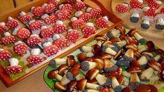 Печенье «Грибы»