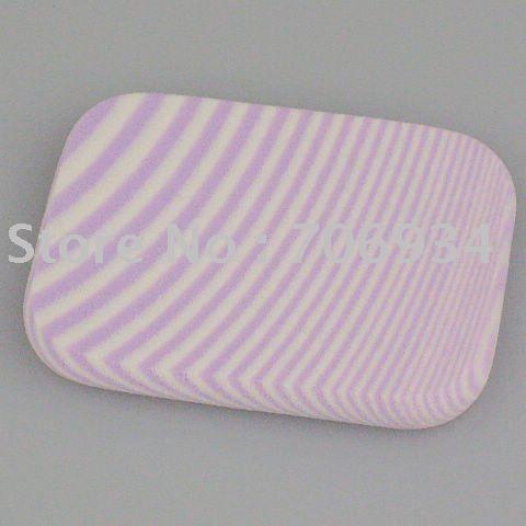 Мягкий макияж губка лица пуховкой на лице лица губка косметическая пуховкой фиолетовый 60 * 44 * 8 мм