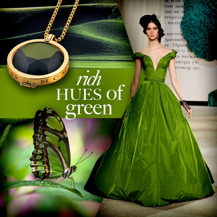 #Meadow #Green #Emerald #Vert #Coin #Jewellery #Jewelry #Gold #Butterfly #Emozioni #HotDiamonds #Dress #Style #Fashion
