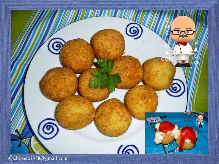 Cocina con Paco: Bombas de carne y cebolla caramelizada