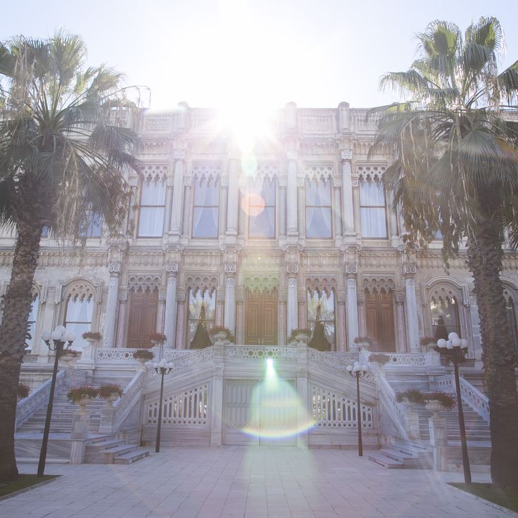 A beauty under the sun's rays: Ciragan Palace