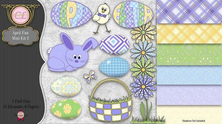 CLGraphics April Fun Mini Kit 2