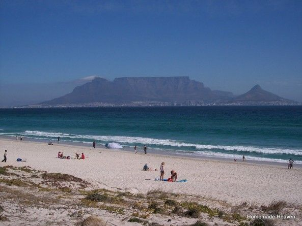 Table Moutain from Blouberg Beach