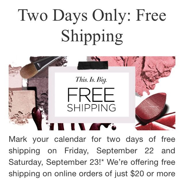 AVON COUPON CODE ALERT~ Use code TWENTY for FREE SHIPPING this Fri-Sat, Sept 22nd, 23rd with minimum $20 order (before tax). Great time to treat yourself or a friend to a gift delivered directly from Avon😊🎉🎉💖 Shop my E-Store: www.youravon.com/ksterner #AvonDiscountCode #DirectDeliveryToYourDoor #GreatTimeToSendAGift