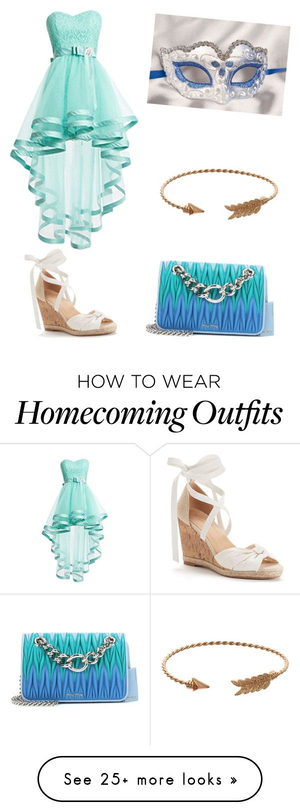 """""""Masquerade ball"""" by emmie-queen on Polyvore featuring Mudd, Masquerade, Apt. 9 and Miu Miu"""