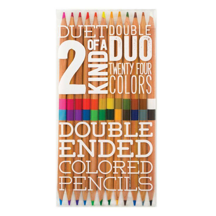 International Arrivals - Two of a Kind Coloured Pencil Set | Peter's of Kensington