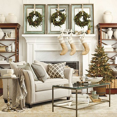 Wreaths on frames