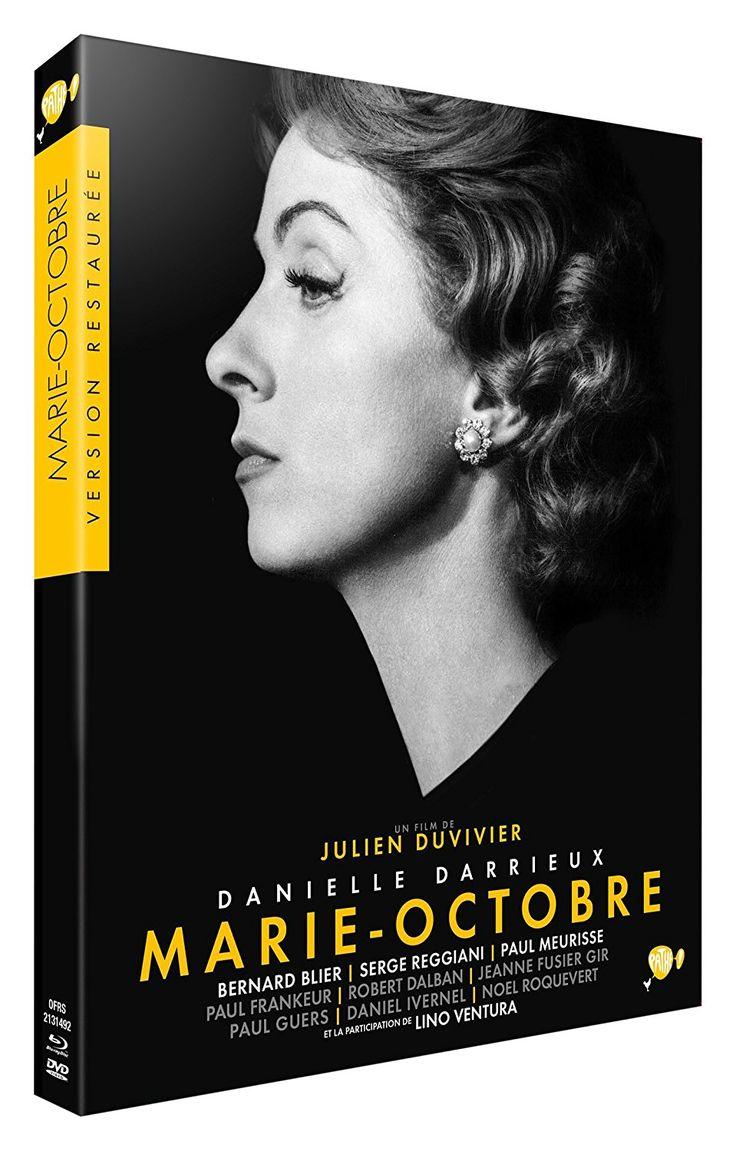 Marie-Octobre [Combo Collector Blu-ray + DVD]: Amazon.fr: Danielle Darrieux, Bernard Blier, Robert Dalban, Jeanne Fusier-Gir, Serge Reggiani, Lino Ventura, Julien Duvivier: DVD & Blu-ray