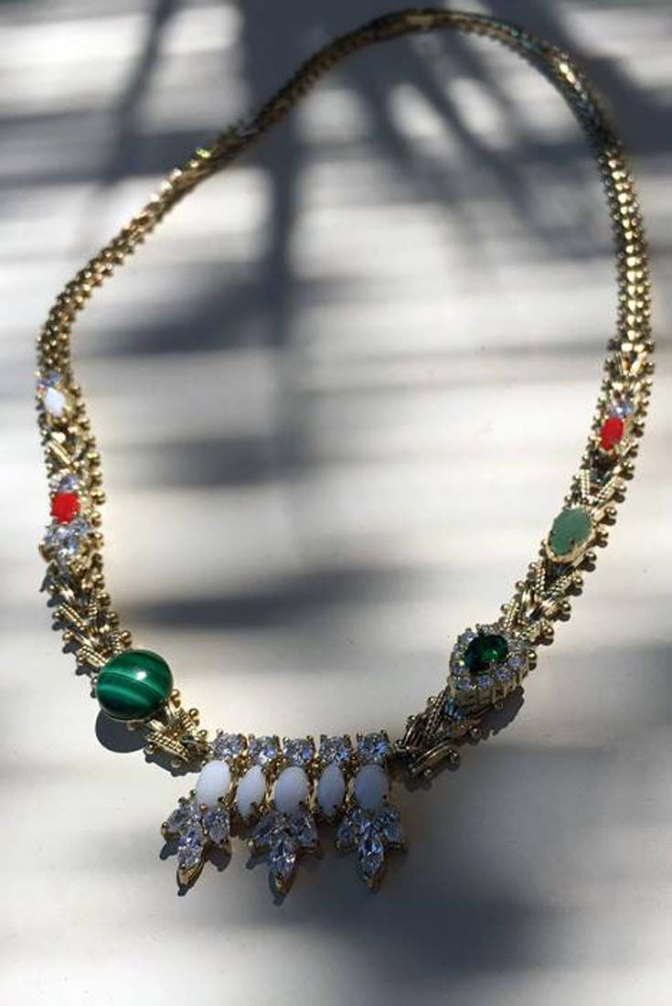 Customized chain #necklace in 18kt #IOSSELLIANI #Gypset