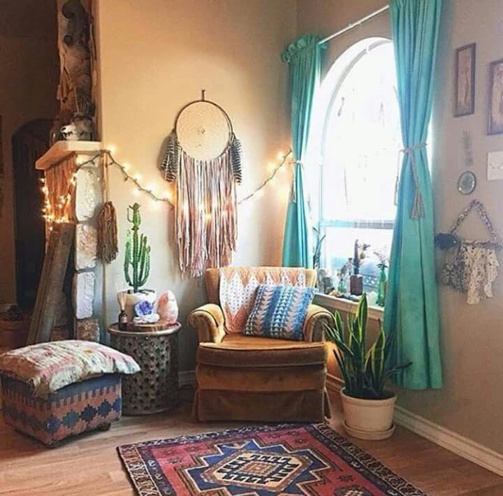Las 25 mejores ideas sobre dormitorios hippies en - Decoracion hippie ...
