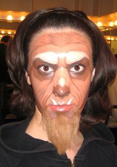 Image result for beauty and the beast stage makeup