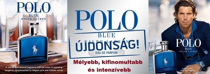 Ralph Lauren Polo Blue EDP férfi parfüm  Elegáns és kifinomult újraértelmezése a klasszikus Polo Blue-nak.  http://www.parfumdivat.hu/parfumdivathazak/ralph-lauren-polo-blue-edp-ferfi-parfum.html