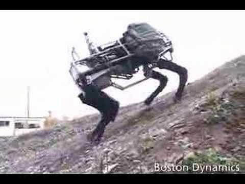 Boston Dynamics BigDog Stuff I never knew existed til tonight