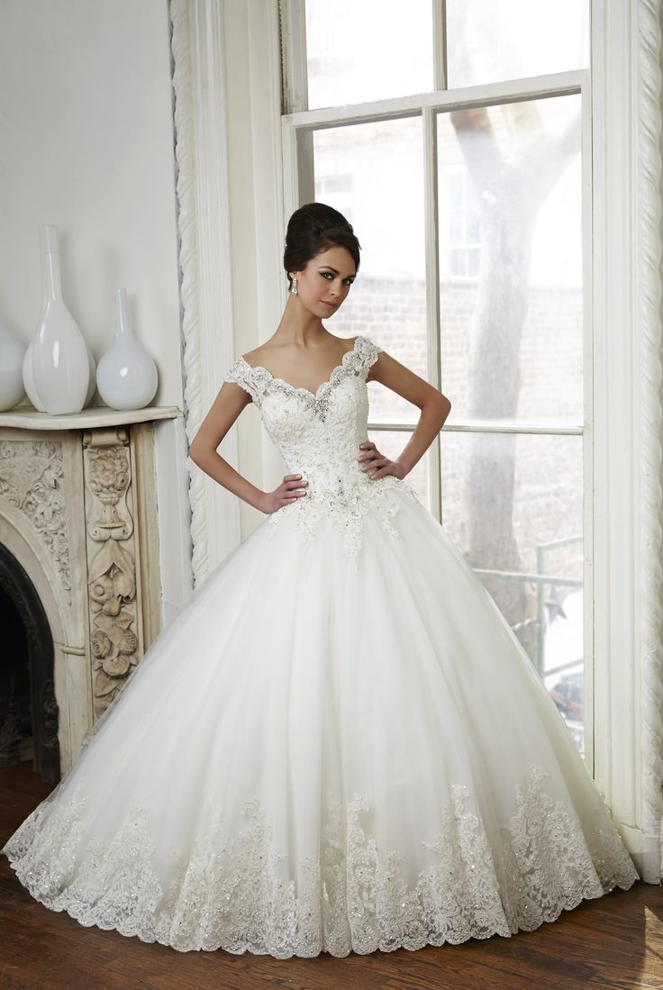 ball gown princess wedding dress