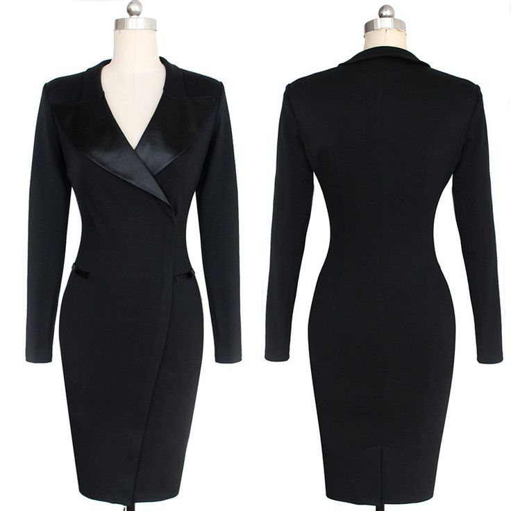 BEFORE Women Sexy Pencil Dress Autumn Winter Long Sleeve Solid Color Office Plus Size Dresses Fashion Casual Vintage Dresses Like it? Visit us