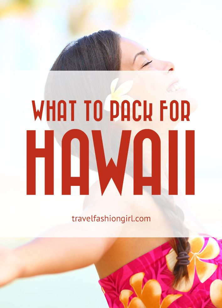 What to Pack for Hawaii Vacations: 10 Piece Packing List