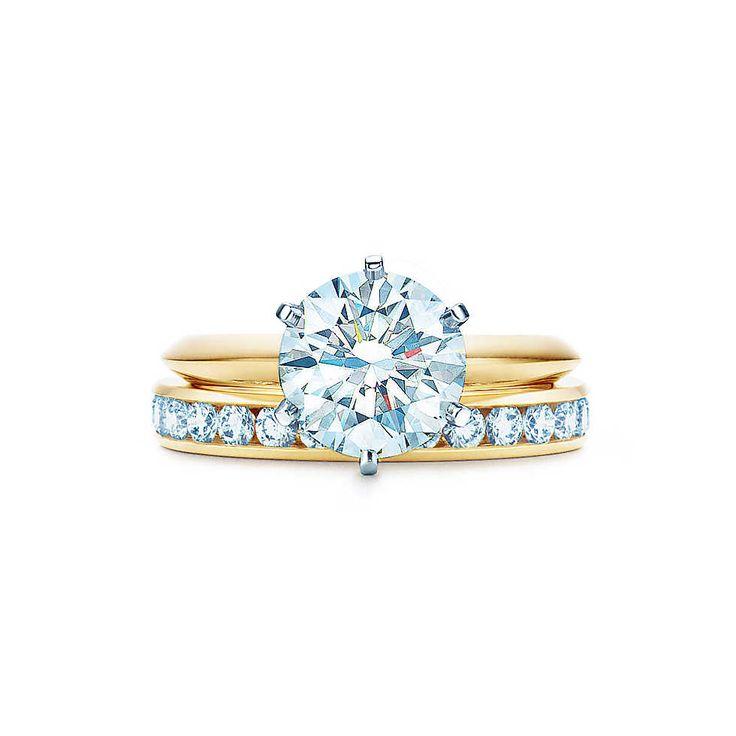Der Tiffany® Setting <br>Gelbgold, 18 kt.