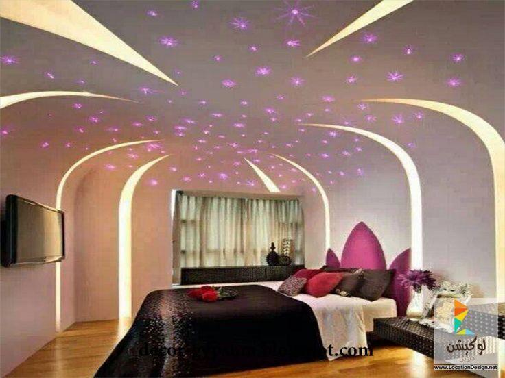 ديكور جبس غرف نوم للعرسان ديكورات جبس Bedroom Ceiling Awesome Bedrooms Beautiful Bedrooms Ceiling Design Bedroom