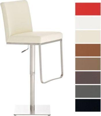 Edelstahl-Barhocker CARTAGO, moderne Eleganz in Perfektion, drehbar, Sitzhöhe 57 - 81 cm, aus bis zu 7 Bezugfarben wählen Jetzt bestellen unter: https://moebel.ladendirekt.de/kueche-und-esszimmer/bar-moebel/barhocker/?uid=b98bd771-6c66-56bd-8e7b-ecbc0fdc73cc&utm_source=pinterest&utm_medium=pin&utm_campaign=boards #barhocker #kueche #stehtische #esszimmer #barmoebel