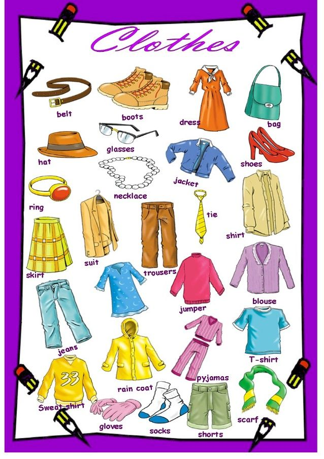 Forum | Learn English | Basic Vocabulary: Clothes | Fluent Land
