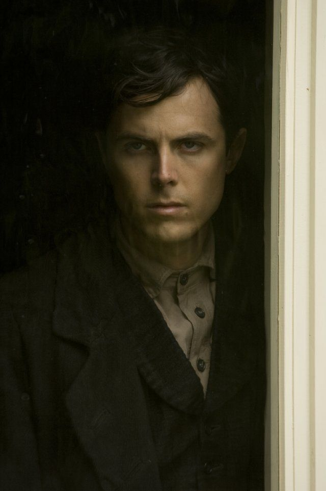 Casey Affleck in The Assassination of Jesse James by the Coward Robert Ford...he literally stole the movie.