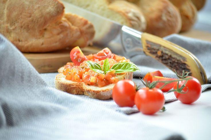 Ein schnelles Bruschetta Rezept! Bruschetta original! Bruschetta selber machen! Bruschetta mit Tomaten!