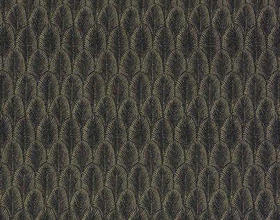 Эта жаккардовая ткань из нитей Trévira CS утонченных оттенков демонстрирует сплошной рисунок переливающихся пальметт. Она напоминает о великолепных платьях 20-х годов.  Ткань можно стирать при температуре 30 °С. Стремясь удовлетворить требованиям пожарной безопасности некоторых рынков сбыта, дизайнерский дом Pierre Frey предлагает в коллекции «Charleston» несколько моделей ткани, сотканной из высококачественного волокна и полиэфирных нитей марки Trévira CS, замедляющих распространение огня…