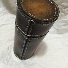 Etui lunettes cylindrique en cuir cuir pinterest - Objet cylindrique 94 ...