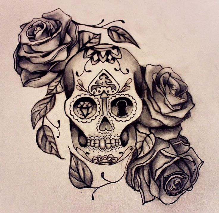mexican sugar skull and roses tattoo design fresh 2017 tattoos ideas sugar skull and roses. Black Bedroom Furniture Sets. Home Design Ideas