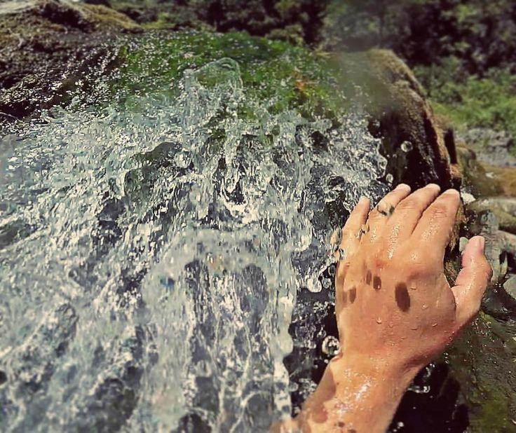 "620 Me gusta, 2 comentarios - M a t í a s E h a r s (@historiadeunaries) en Instagram: ""Morning shower at the fallwater  #EastAndCoasts"""
