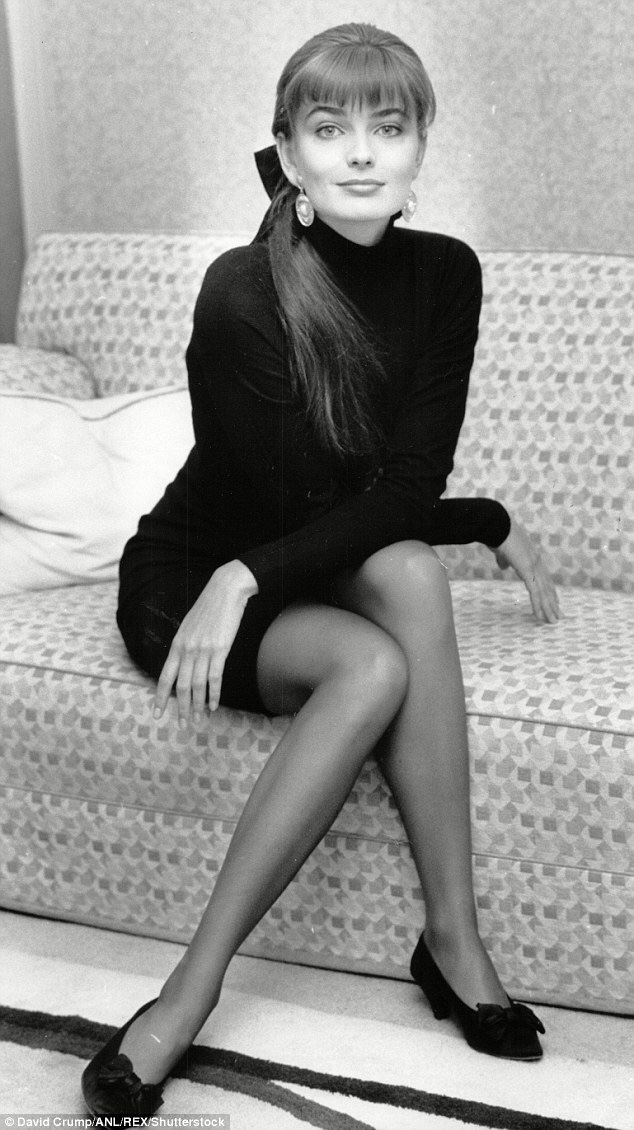 Paulina Porizkova 1988 Photo Credit - David Crump