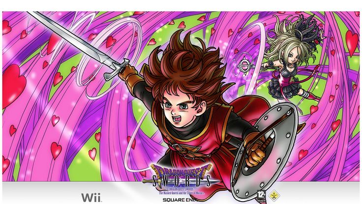 1920x1080 wallpaper desktop dragon quest swords the masked queen and the tower of mirro