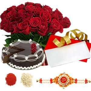 Send Rakhi gifts and flower arrangements to Noida, Here at www.noidaflowershop.com you can explore Raksha Bandhan special hampers including flowers, chocolates, sweets, cakes, toys and lots more. Contact us: +91-8288024441, 8288024442