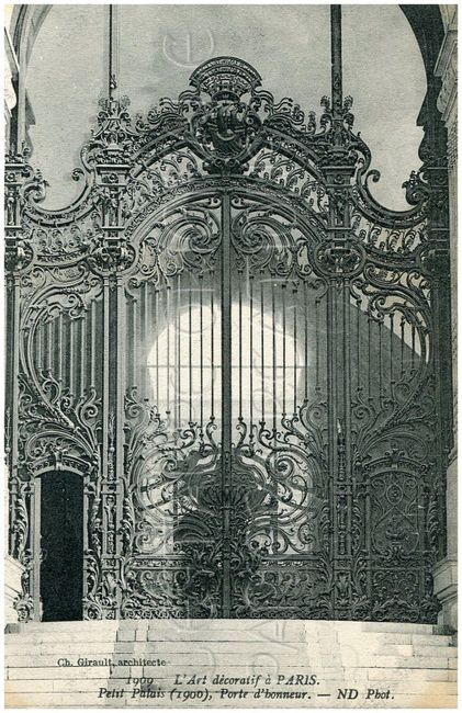 DIGITAL Download FRENCH Wrought Iron Gate by lestampeoriginale on imgfave