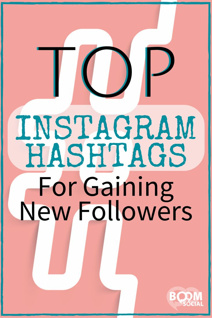 Hashtags are one of the best ways to get new followers on Instagram.                                                                                                                                                                                 More