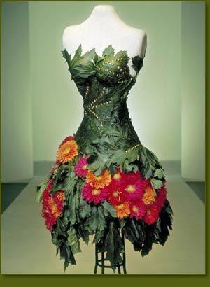 ❧✿ Les fleurs dans la mode ❧✿