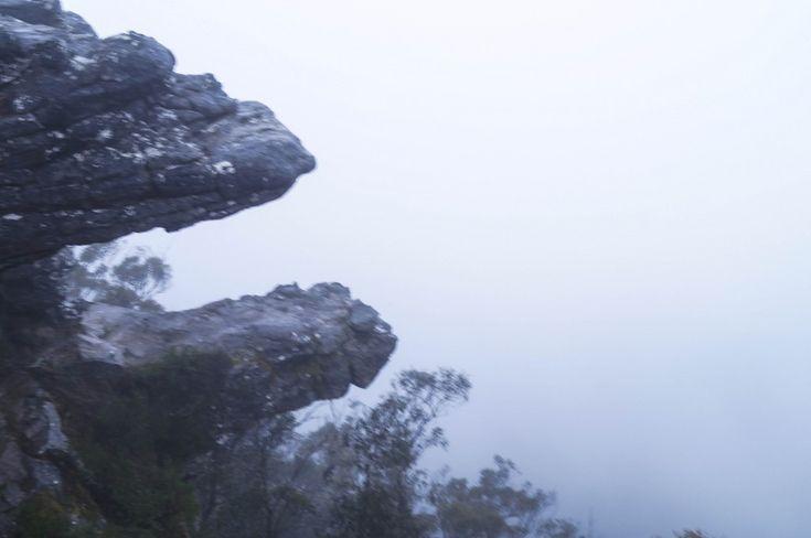 Fog at Sunrise in the Grampians, Australia
