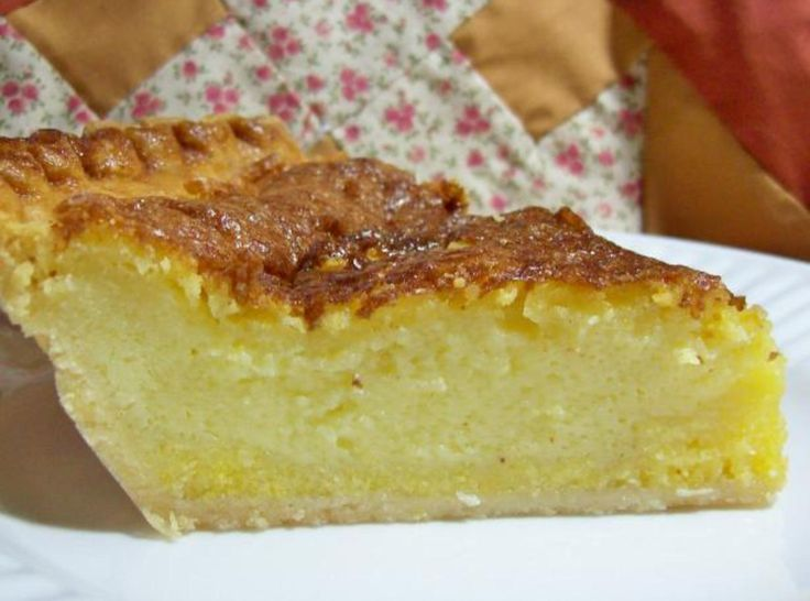 I am a big fan of Ches Pie - a variety of recipes can be found! Deep-Dish Buttermilk Chess Pie