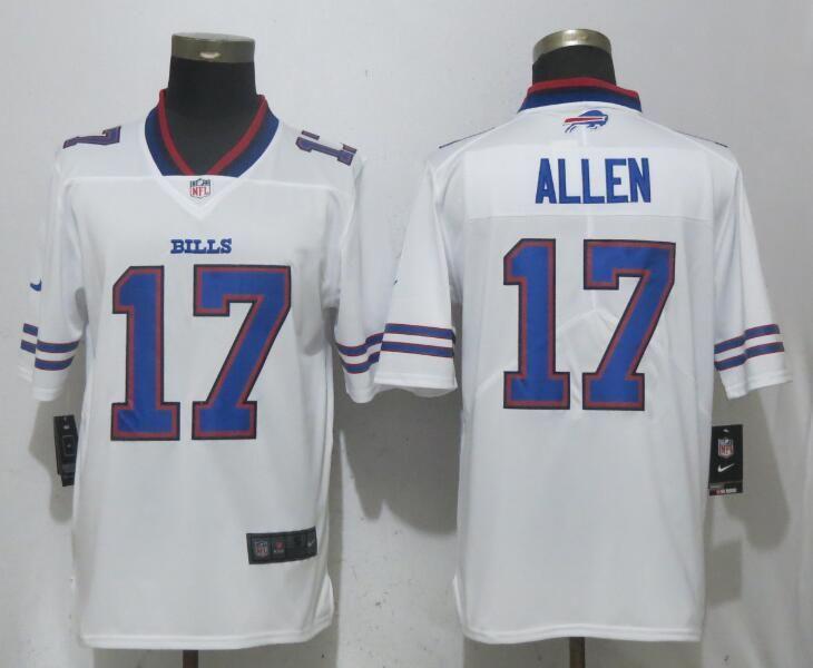 f9cfcfbfe Men Buffalo Bills 17 Allen White Vapor Untouchable Limited Playe NFL Jerseys
