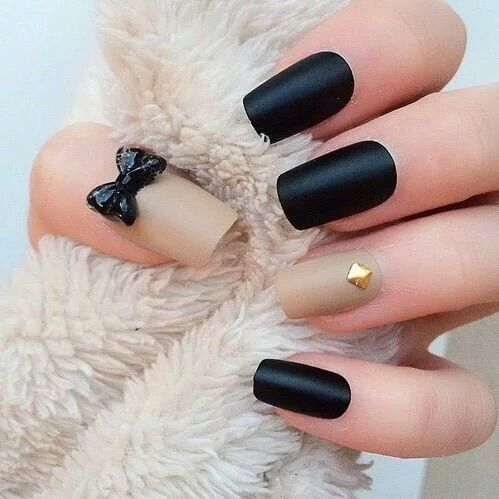Image via We Heart It #art #beautiful #black #fashion #girl #glamorous #nails #pretty #strass #style #sweet #woman #cute #love #vernis