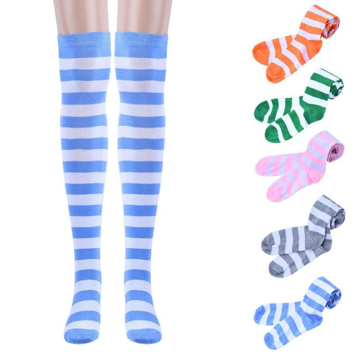 2015 New Fashion Winter Acrylic Thigh High Socks Over Knee