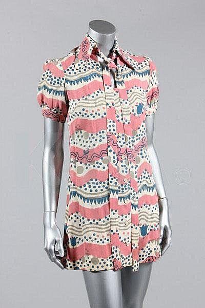 Carnaby Street: 60s Radley dress by Ossie Clark & Celia Birtwell