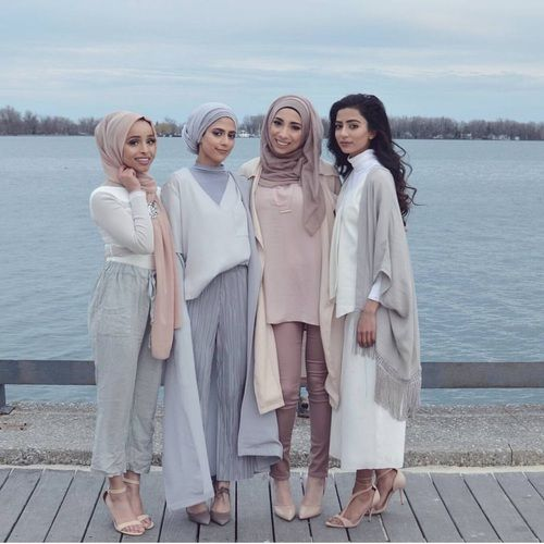girls, hijab, and arab image