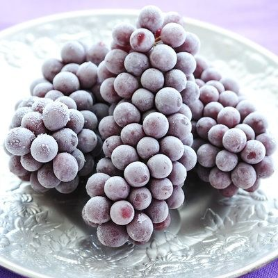 Frozen grapes: Keep a bag of purple grapes in your freezer to have a healthy, refreshing treat on hand for hot summer days. | Health.com
