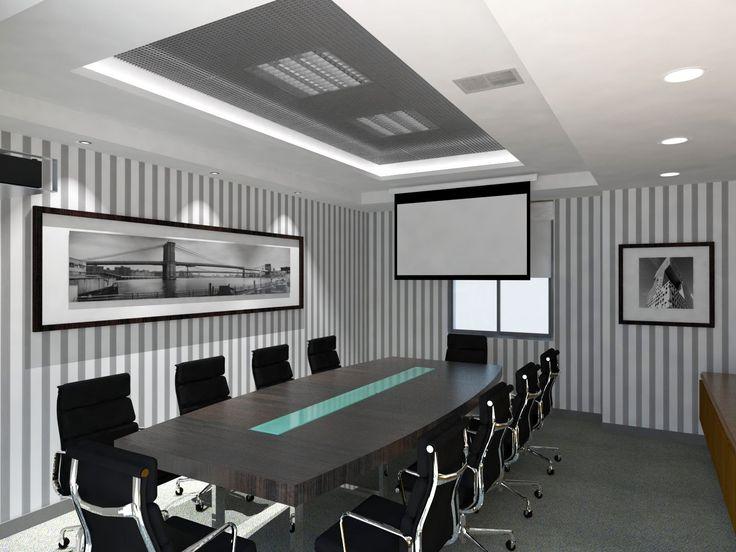 Las 25 mejores ideas sobre salas de reuniones en for Arquitectura de oficinas modernas