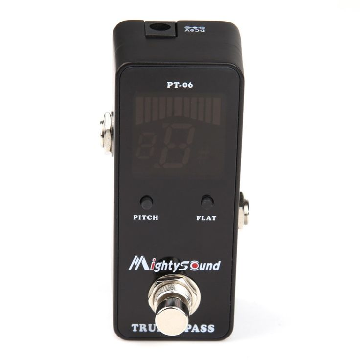 guitar tuner New Mighty Sound PT-06 Micro Tuner Chromatic guitar pedal Hot Sale EA14