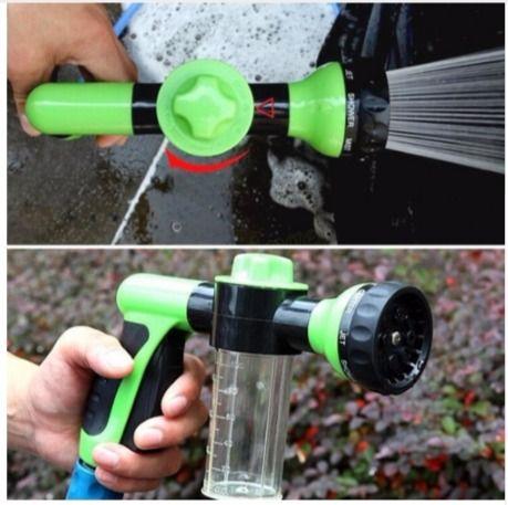 Schlauch Wasserpistole mit seife Container Hochdruckreiniger Seifenschaum für das Auto – supermarkt