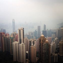 View from #thepeak #hongkong