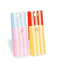 Pink striped lolly bags ONLY $8.95 pk 12 www.sweetlittlesoiree.com.au